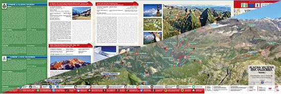 itinerari di trekking ad Alagna Valsesia e Riva Valdobbia