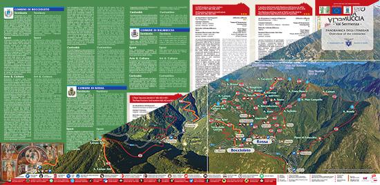 itinerari di trekking a Boccioleto Rossa Balmuccia