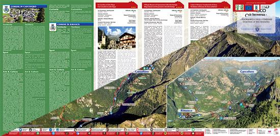 itinerari di trekking a Carcoforo e Rimasco