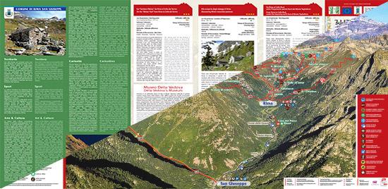 itinerari di trekking a Rima San Giuseppe