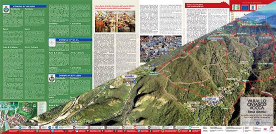 itinerari di trekking a Varallo Civiasco Vocca