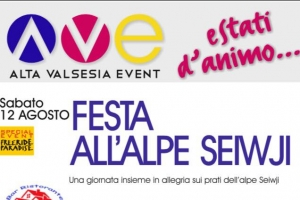 FESTA ALL'ALPE SEIWJI - 2017