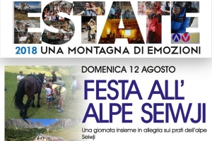FESTA ALL'ALPE SEIWJI 2018