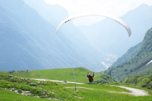 Paragliding In Valsesia