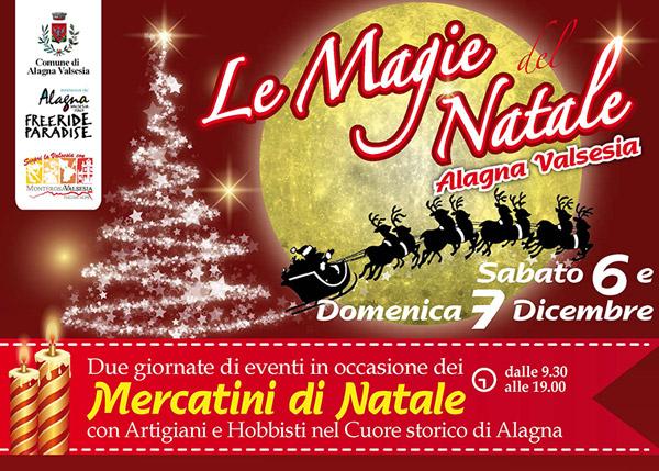 Le Magie del Natale ad Alagna Valsesia