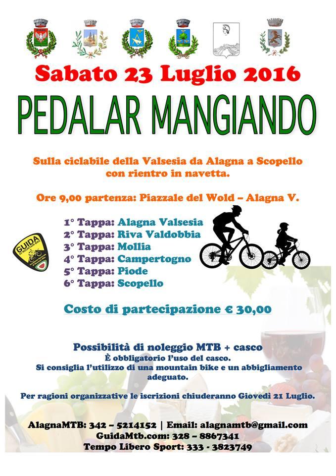 pedalarmangiando